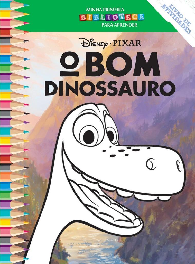 Imagem - Biblioteca Colorir Disney - O Bom Dinossauro cód: 9788533945470