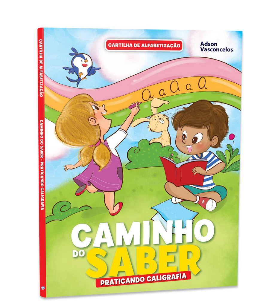 Imagem - Cartilha de Alfabetização Caminho do Saber - Praticando a Caligrafia  cód: 9788533955943