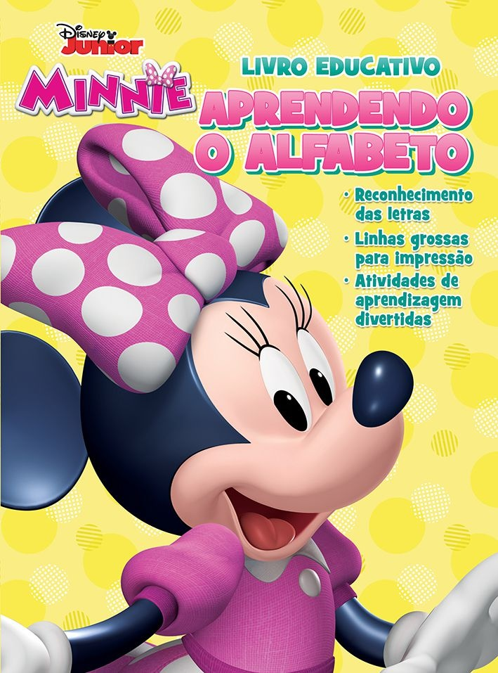 Imagem - Atividades Educativas Disney - Aprendendo o Alfabeto Minnie cód: 9788533953321