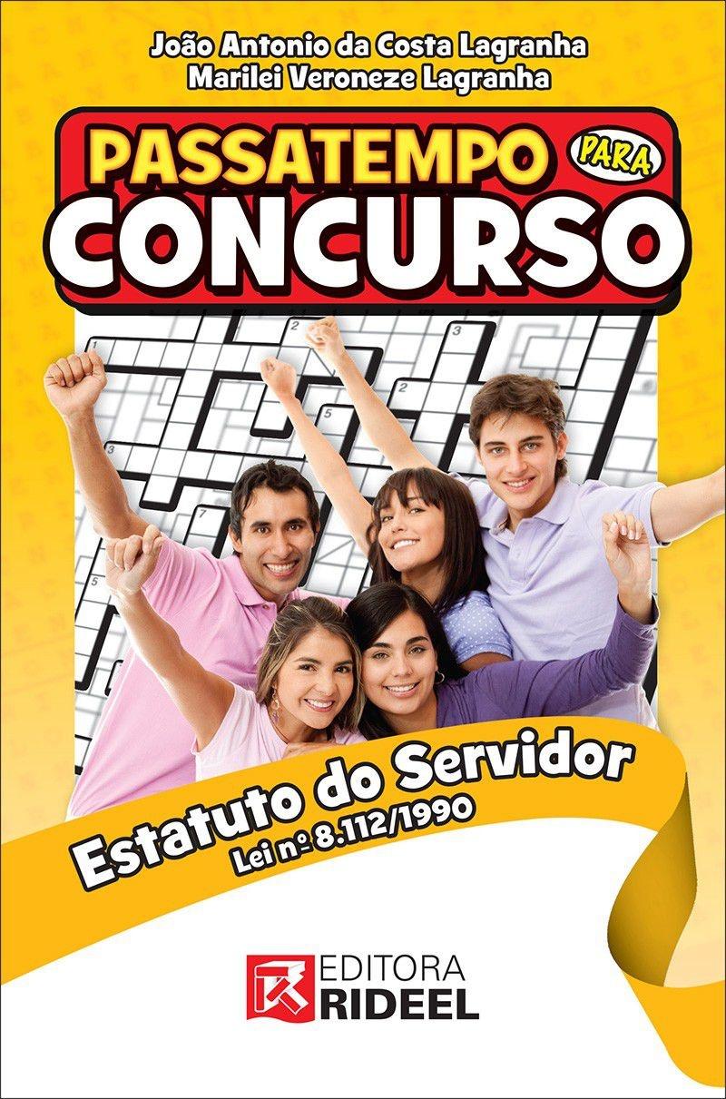 Imagem - Passatempo para Concurso - Estatuto do Servidor cód: 9788533937888