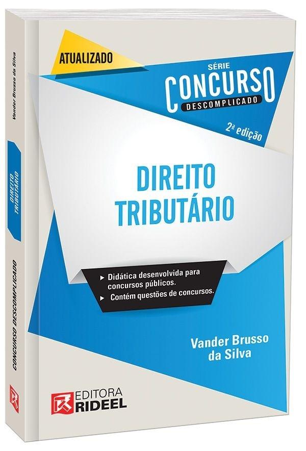 Imagem - Concurso Descomplicado - Direito Tributário cód: 9788533933866