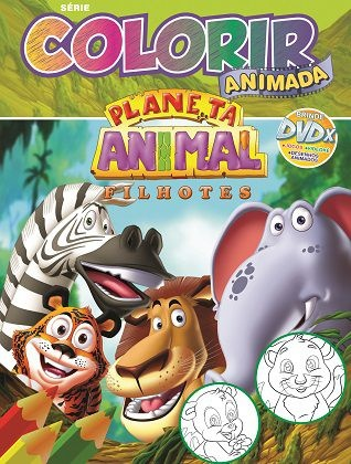 Imagem - Colorir Animada - Planeta Animal cód: 9788533925458
