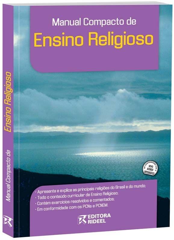 Imagem - Manual Compacto de Ensino Religioso - Ensino Médio cód: 9788533915640
