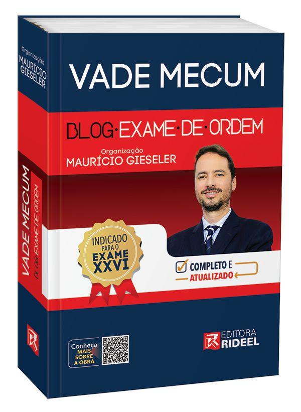 Imagem - Vade Mecum - Blog Exame de Ordem  cód: 9788533952836