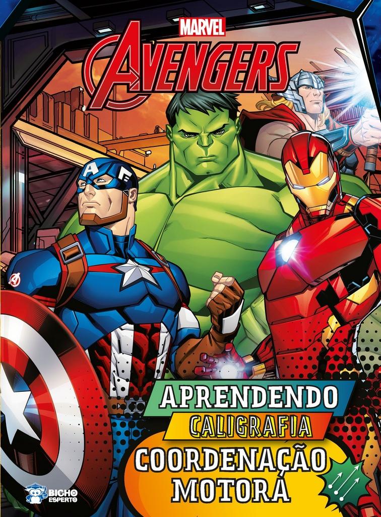Imagem - Aprendendo Caligrafia Marvel - Coordenação Motora  cód: 9788533953284