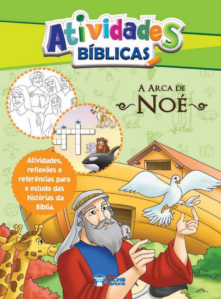 Imagem - Atividades Bíblicas - Arca de Noé - 9788533928671
