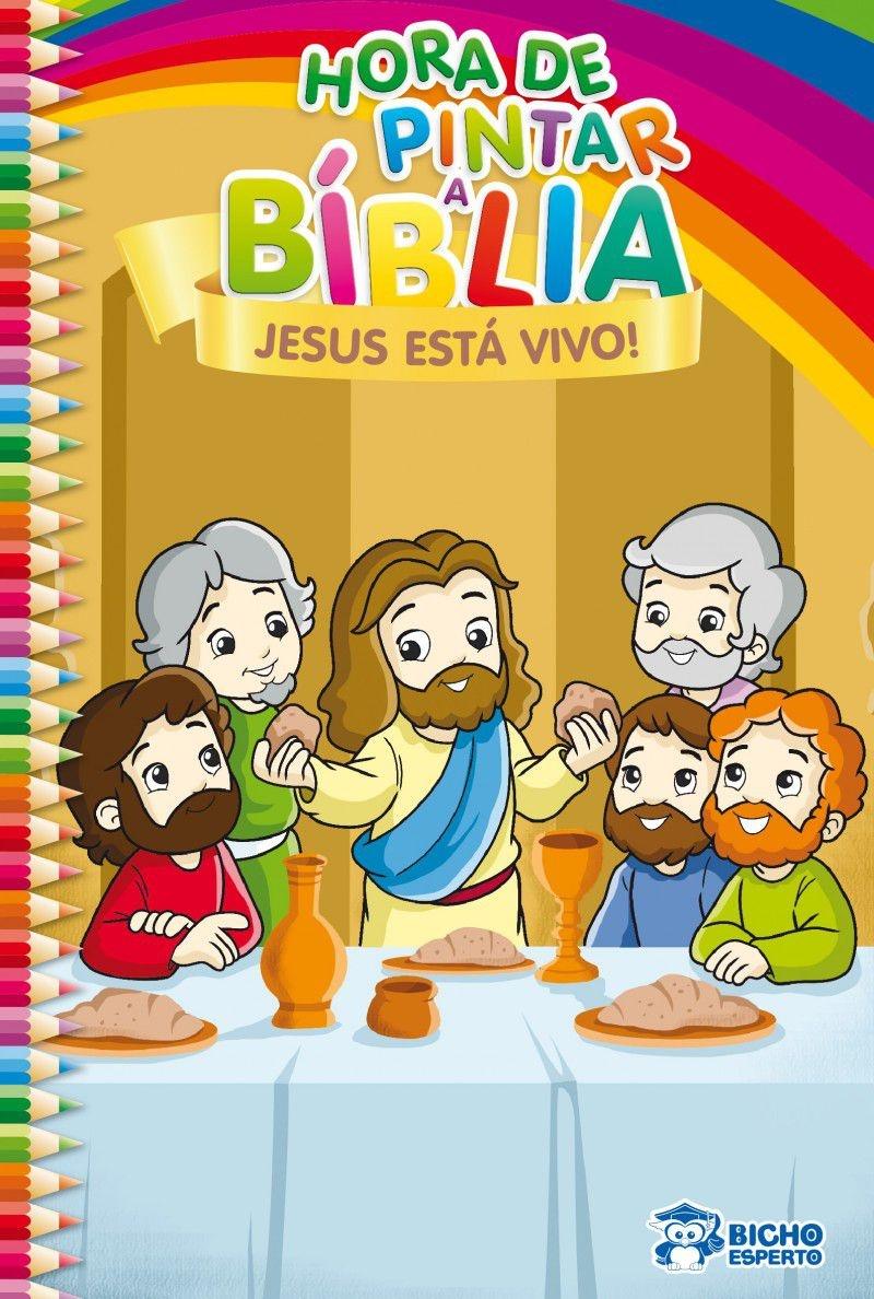 Imagem - Hora de Pintar Bíblia - Jesus Está Vivo - 9788533937369