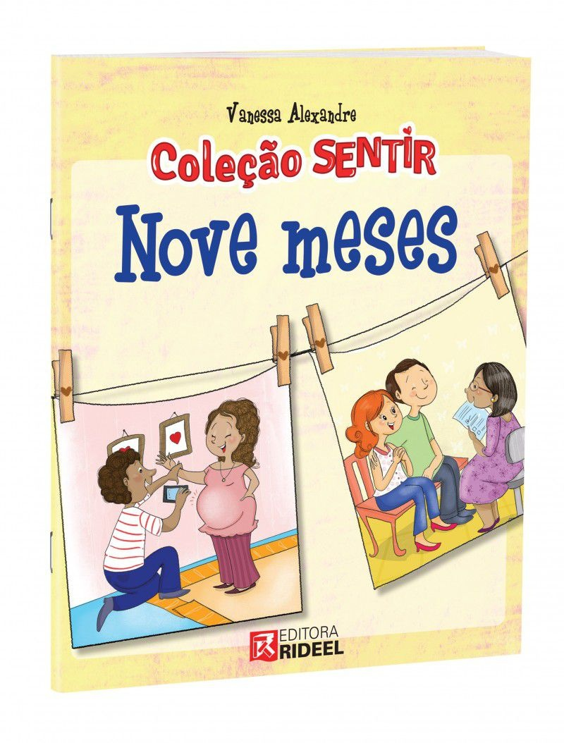 Imagem - Sentir - Nove Meses cód: 9788533930193