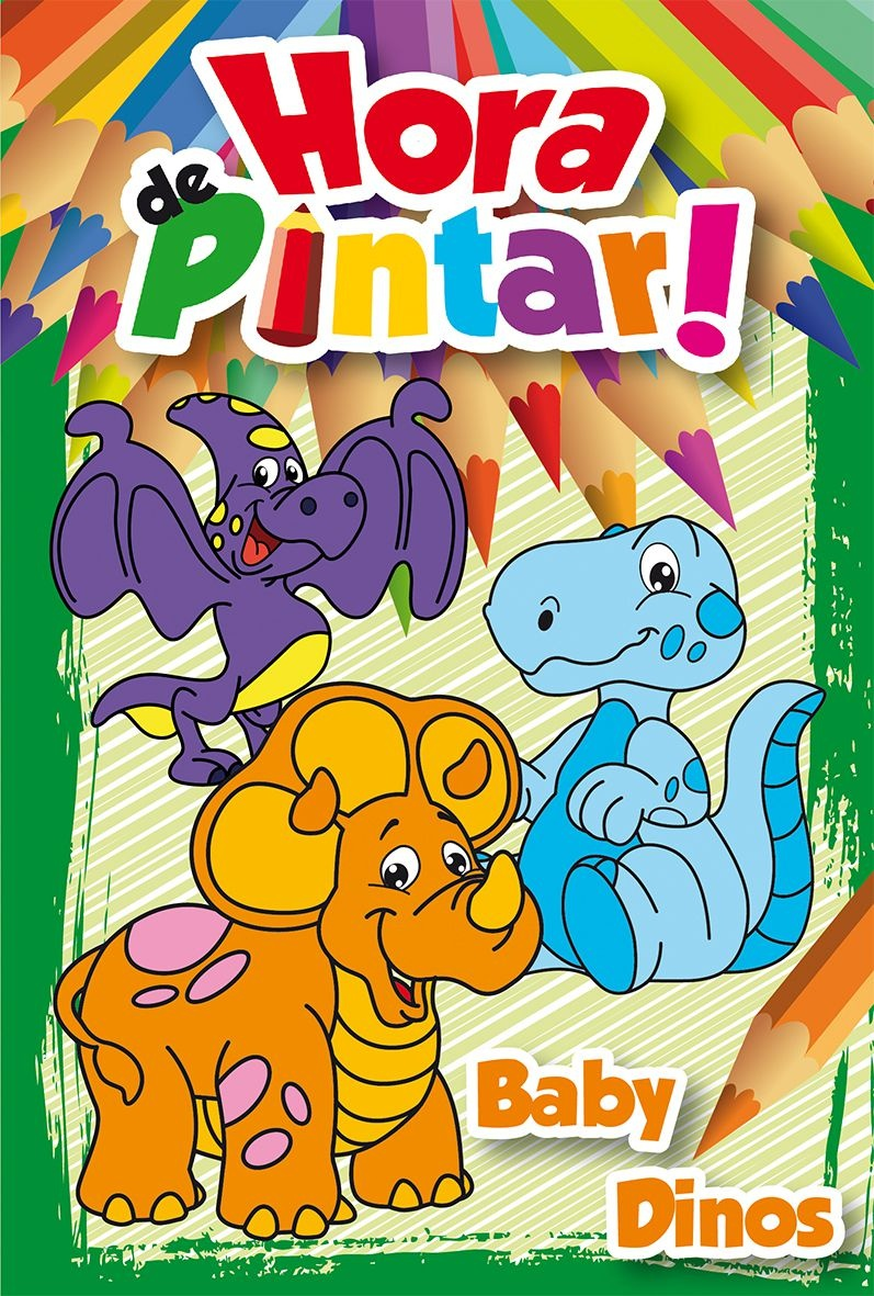 Imagem - Hora de Pintar - Baby Dinos - 9788533932395
