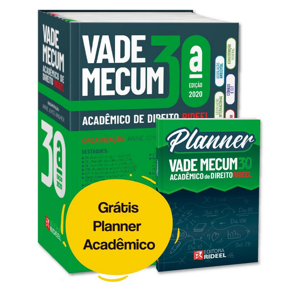 Imagem - Vade Mecum Acadêmico de Direito - 2020 cód: 9788533958289