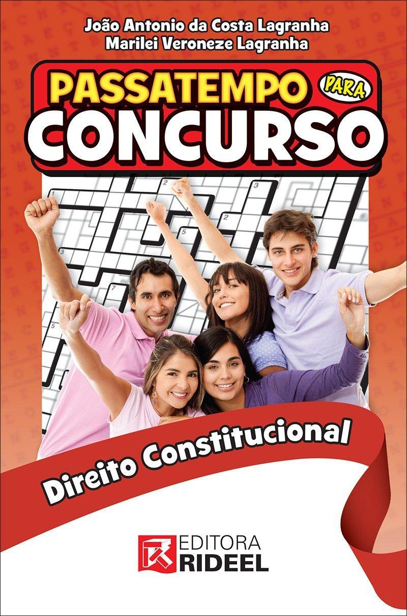 Imagem - Passatempo para Concurso - Direito Constitucional cód: 9788533937864