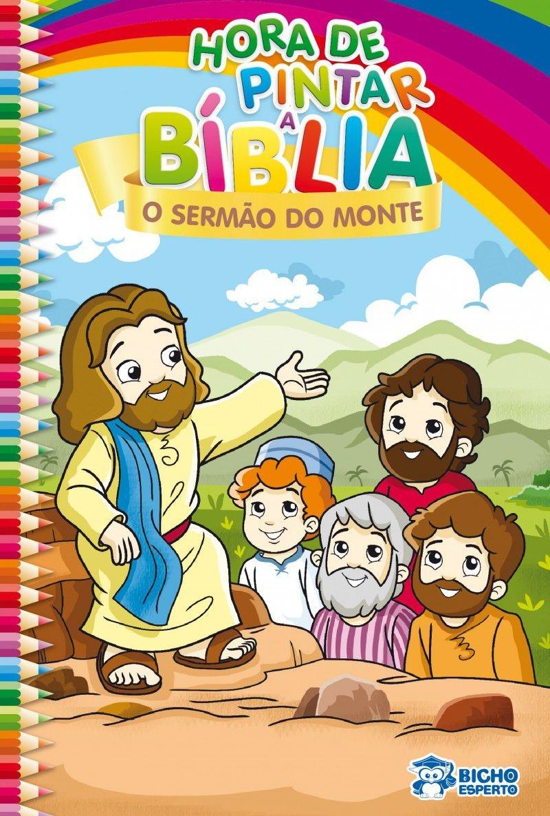 Imagem - Hora de Pintar Bíblia - O Sermão do Monte - 9788533937352