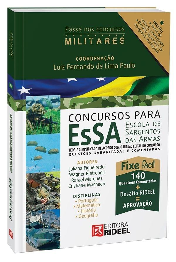 Imagem - Carreiras Militares - EsSa - Escola de Sargentos das Armas  cód: 9788533935211