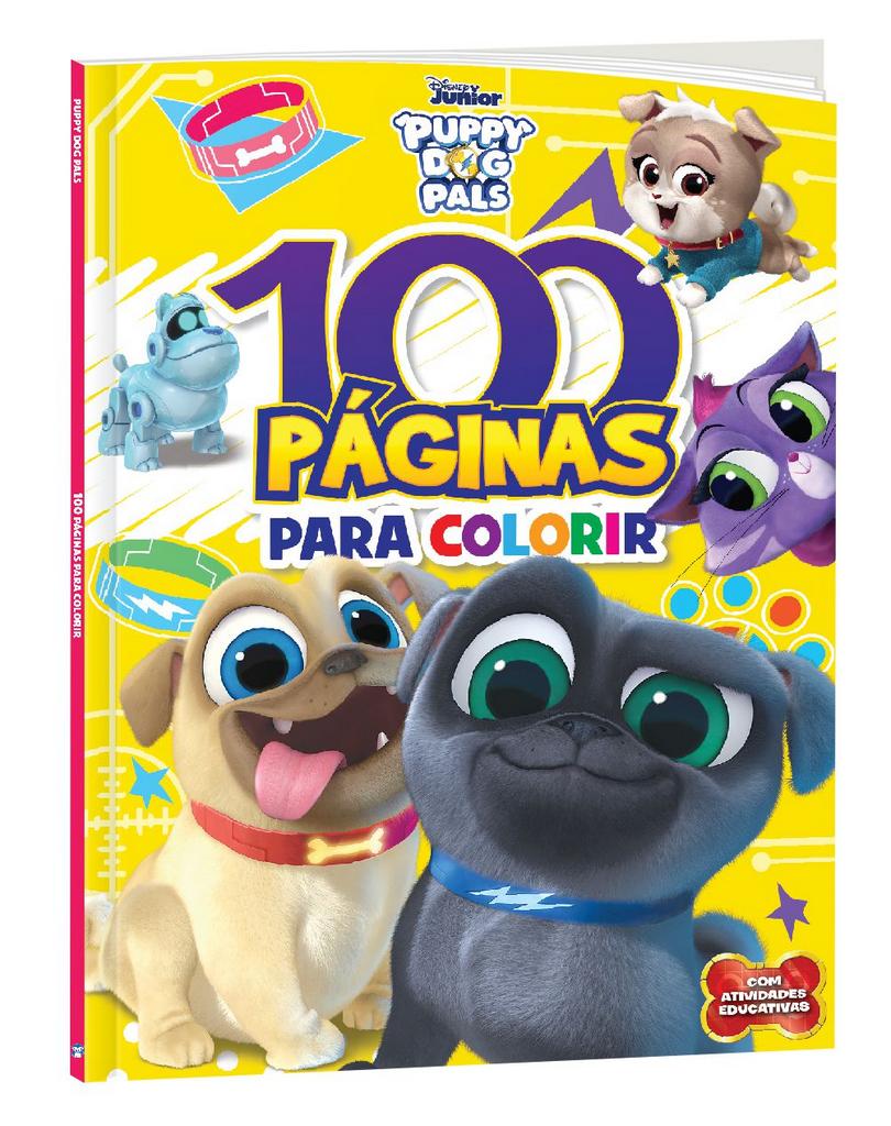 Imagem - 100 Páginas para Colorir Disney - Bingo e Rolly cód: 9788533957312