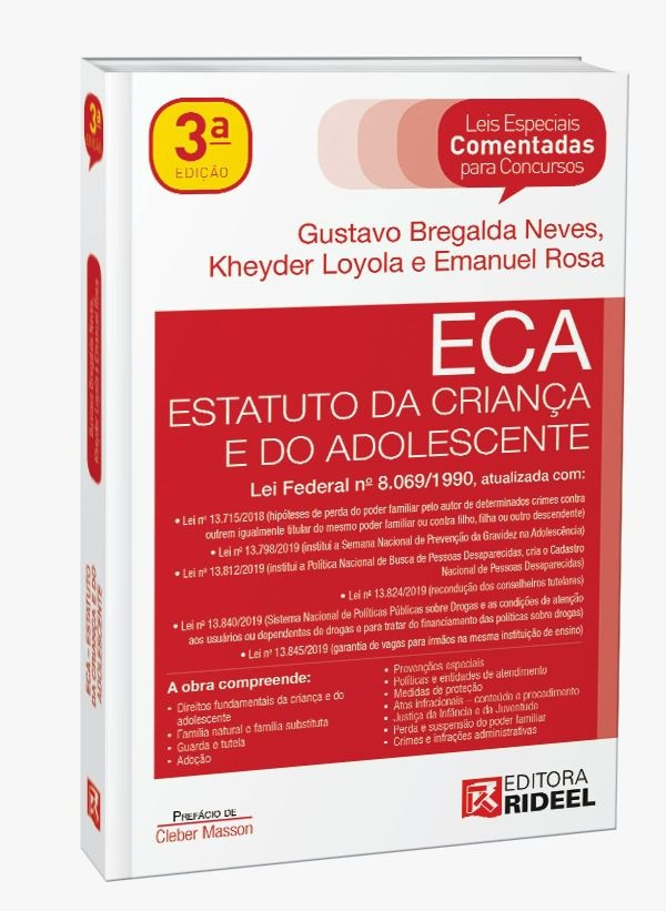 Imagem - Leis Especiais Comentadas - ECA - 3ª edição cód: 9788533956230