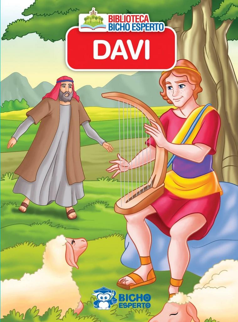 Imagem - Mini Livro da Bíblia - Davi - 9788533943179