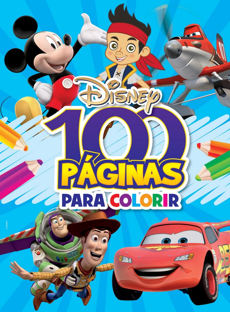 Imagem - 100 Páginas para Colorir Disney - Meninos cód: 9788533934009