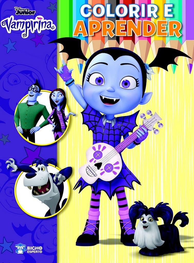 Imagem - Colorir e Aprender Disney - Vampirina  - 9788533955783