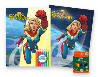 Imagem - Kit Diversão Marvel - Capitã Marvel - 9788533957398