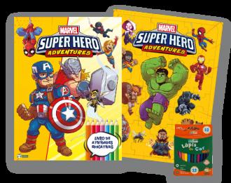 Imagem - Kit Diversão Marvel – Super Hero Adventures - 9788533957411