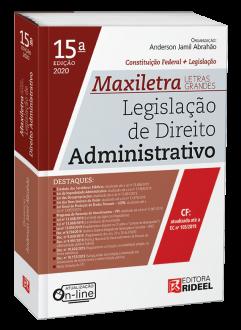 Imagem - Legislação de Direito Administrativo - MAXILETRA - Constituição Federal + Legislação - 9788533958609