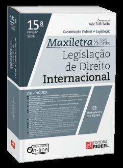 Imagem - Legislação de Direito Internacional - MAXILETRA - Constituição Federal + Legislação - 9788533958623