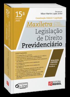 Imagem - Legislação de Direito Previdenciário - MAXILETRA - Constituição Federal + Legislação - 9788533958630