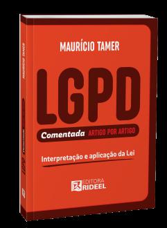 Imagem - LGPD - Comentada artigo por artigo cód: 9786557383827