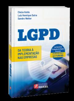 Imagem - LGPD - Da Teoria à implementação nas Empresas cód: 9786557381816