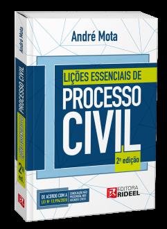 Imagem - Lições Essenciais de Processo Civil - 9786557380895