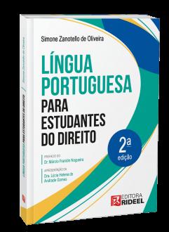 Imagem - Língua Portuguesa para estudantes do Direito cód: 9786557383858