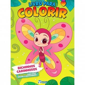 Imagem - Livro Para Colorir - Bichinhos Carinhosos cód: 9786557380697