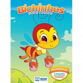 Imagem - Livro Para Colorir Bichinhos Mágicos - Abelhinhas cód: 9786557380932