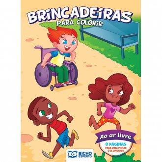 Imagem - Livro Para Colorir Esportes e Brincadeiras - Ao Ar Livre cód: 9786557380970