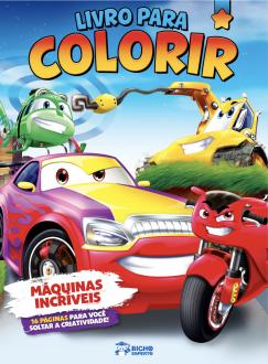 Imagem - Livro Para Colorir - Máquinas Incríveis cód: 9786557380758