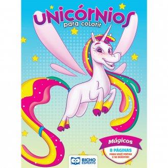 Imagem - Livro Para Colorir Unicórnios e Lhamas - Mágicos cód: 9786557381045