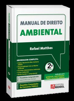 Imagem - Manual de Direito Ambiental cód: 9786557380666