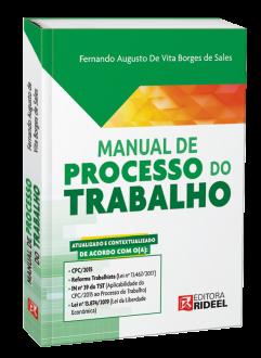 Imagem - Manual de Processo do Trabalho - 1ª edição - 9788533958258