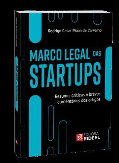Imagem - Marco Legal das Startups cód: 9786557383599