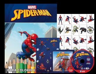 Imagem - Marvel Kit 5 em 1 com DVD - Homem Aranha cód: 9788533952324