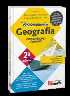 Imagem - Minimanual de Geografia - Enem, vestibulares e concursos - 2ª edição - 9788533958715