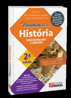 Imagem - Minimanual de História - Enem, vestibulares e concursos - 2ª edição cód: 9786557382479