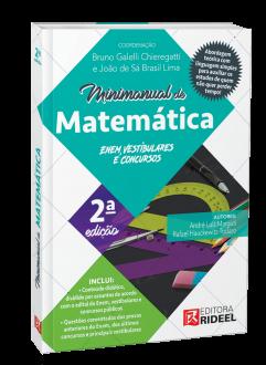 Imagem - Minimanual de Matemática - Enem, vestibulares e concursos – 2ª edição cód: 9786557382486