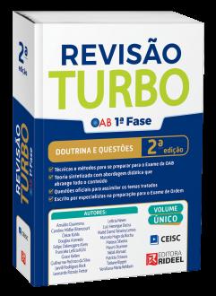 Imagem - Revisão Turbo OAB 1ª fase – Doutrina e Questões - 2ª edição cód: 9786557381717