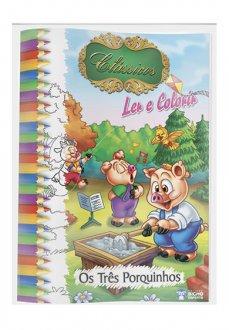 Imagem - Solapa Grande (Pct 10 livros) – Clássicos para Ler e Colorir cód: 9788533926752
