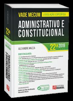 Imagem - Vade Mecum Administrativo e Constitucional - 22ª edição cód: 9788533956056
