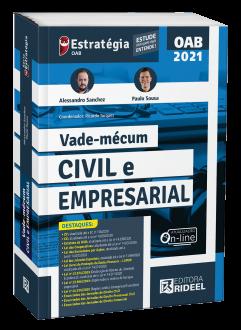 Imagem - Vade-mécum Civil e Empresarial - 1ª edição cód: 9786557381618