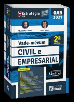 Imagem - Vade-mécum Civil e Empresarial - 2ª edição cód: 9786557384466