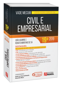 Imagem - Vade Mecum Civil e Empresarial - Legislação Específica  cód: 9798533903725