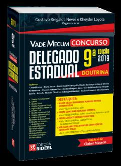 Imagem - Vade Mecum Concurso – Delegado Estadual - 9ª edição cód: 9798533903771